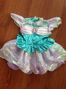 Disney Princess Ariel Little Mermaid Toddler Girls' Costume Dress 3T 4T