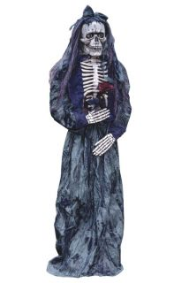 Skeleton Bride 72 inch Prop Scary Haunted House Wedding Theme Halloween Party