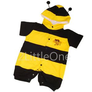 Bee Baby Boy Girl Fancy Party Costume Outfit 3M 24M