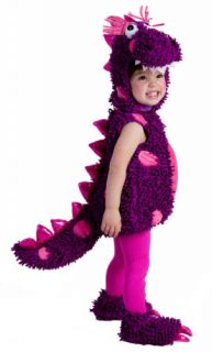 Infant Baby Toddler Girls Purple Dragon Halloween Costume