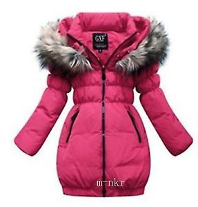 2014 New Girls Clothing New Down Jacket Winter Coat Princess Children Baby
