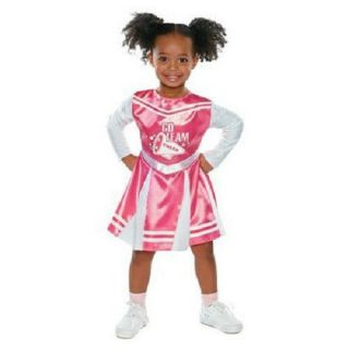 Infant Toddler Pink Cheerleader Halloween Costume 12 24 Months