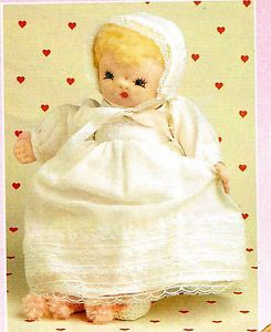Pattern to Make Adorable Sock Baby Doll and Clothes Craft Pattern