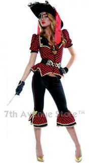 Captain Lovely Womens Pirate Adult Halloween Costume