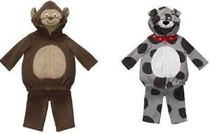 Carter's Dog or Monkey Costume Baby Toddler MSRP$38 Multiple Sizes New with Tags