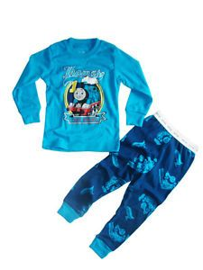 "Cute Toddler Kids Clothes Girls Boys Sleepwear ""Thomas Friends"" Pajamas Set 4T"
