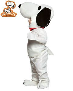 Baby Newborn 18 24M TV Show Comics Peanuts Charlie Brown Pet Snoopy Dog Costume