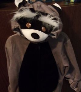 Koala Baby Raccoon Infant Halloween Costume Size 6M