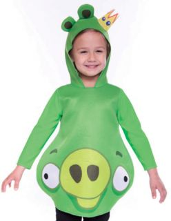 Toddler Boys Girls Angry Birds King Pig Halloween Costume