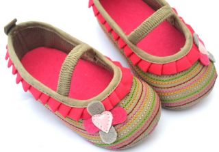 Mary Jane Kids Baby Toddler Girl Shoes Size 1 2 3