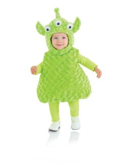 Belly Babies 3 Eyed Green Alien Costume Child Toddler New