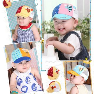 New Cute Kid Toddler Infant Boys Baby Girls Hat Baseball Beret Bee Print Cap