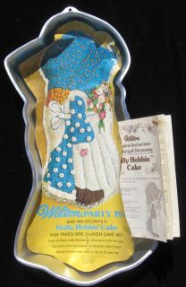 Holly Hobbie Wilton Vintage Cake Pan 1975 Instructions