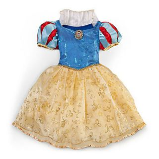 New  Princess Snow White Costume Dress Gown Girls Spring 2013