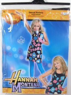 Child Girls Disney Hannah Montana Costume Small 4 6X Singer 50461L