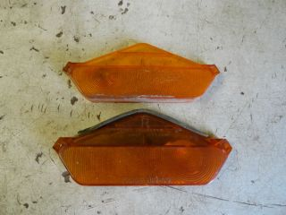 1962 1963 1964 Chevy Corvair Monza Spyder Front Turn Signal Parking Lights