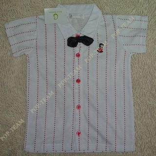 2pcs Baby Boy Top T Shirt Overalls Pants Shorts Set Outfit Clothes Bow Tie TYA3