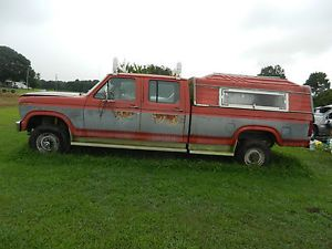 1986 Ford F 350 4 x 4 XLT Crew Cab 6 9 Diesel Parts Truck All Parts for Sale