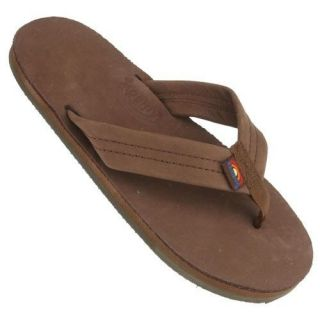 Kids Rainbow Sandal Brown Expresso Baby Single Layer Youth Sandal 101LTS
