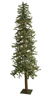 6' Frosted Alpine Artificial Christmas Tree Unlit