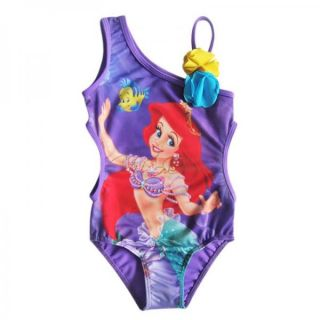 Girl Kid Barbie Mermaid Monokini Swimsuit Swimwear Bather Swimming Costume 4 8 Y