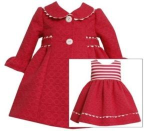 Bonnie Jean Easter Dress Coat Size 3 6 Months Baby Girls Infant Clothing