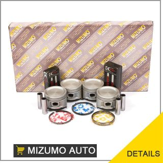 83 88 Nissan Pickup 720 D21 Pathfinder Full Gasket Set Pistons Rings Bearings