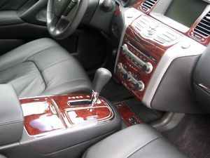 Nissan Murano s SV SL Interior Burl Wood Dash Trim Kit Set 2012 2013