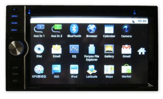 Open Box Nissan Murano 03 07 DVD GPS Navigation Android Radio Aluminum Dash Kit
