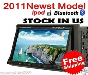 Double DIN 7 inch 2 DIN Car DVD Player Car Stereo Radio Touch Screen iPod TV