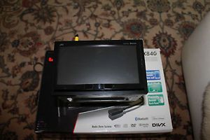 "JVC KW AVX840 7"" Double DIN Car DVD Player Bluetooth iPod iPhone Compatible"