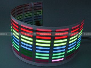 Sound Activated Car Music Light LED