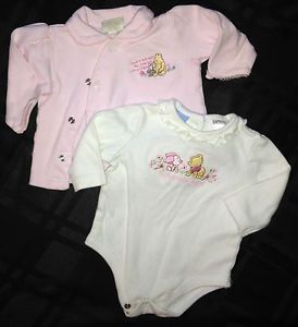 Baby Girl Clothes Disney Baby Winnie The Pooh Baby Girl Onesie Shirt 0 3 M