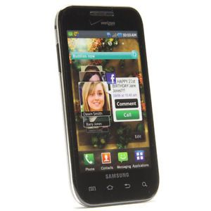 Samsung Fascinate Galaxy s i500 Verizon Wireless Android WiFi GPS Cell Phone