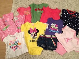 Infants Baby Girls Clothing Lot 3 6 Months Gymboree Disney Childrens Place