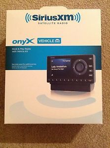New XM Sirius Onyx Satellite Dock and Play Car Radio with Vehicle Kit XDNX1V1 778890206849