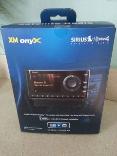Sirius XDNX1V1 XM Onyx Car Satellite Radio Receiver Vehicle Kit