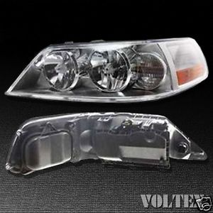 2005 2011 Lincoln Town Car Headlight Lamp Clear Lens Halogen Driver Left Side