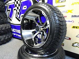 Golf Cart Wheel and Tire Combo for E Z Go Car