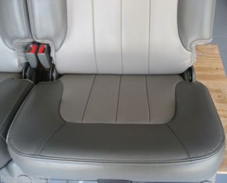 2002 2009 2 Tone Leather GMC Envoy Chevy Trailblazer XL 3rd Row Seats Chairs