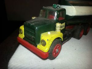 1960's Marx Hess Oil Tanker Gasoline Truck Parts or Restore