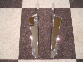 Genuine Harley Davidson FL Softail Chrome Wind Deflectors