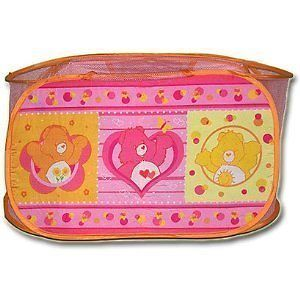 Care Bears Baby Storage Bin Storage Pop Up Hamper New Toy
