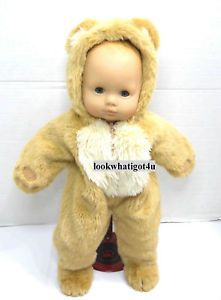 American Girl Bitty Baby Doll Teddy Bear Suit Real Cute