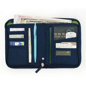 Travel US Folder Organizer Wallet Money Passport Card Document Holder Cover Bag