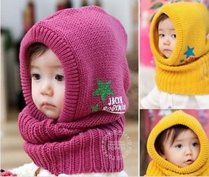 Fashion Cute Baby Kids Girls $ Boys Toddler Winter Warm Knitted Beanie Hat Cap
