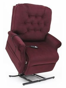 Easy Comfort LC500 Heavy Duty 500 lb Power Lift Chair and Recliner Vino