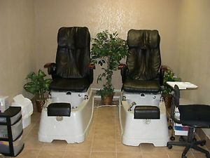 Salon Spa Pedicure Chair with Foot Spa Massage