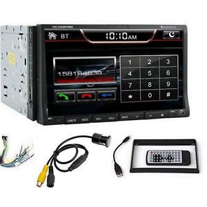 "7"" Touchscreen 2Din in Dash Car Stereo DVD CD Player Radio TV Bluetooth USB Cam"