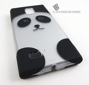 Cute Cartoon Panda Bear Hard Case Cover LG Spectrum 2 II VS930 Phone Accessory